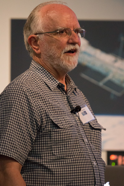 Bill Paciesas (UAH) speaks about the BATSE Legacy -- CGRO (Compton Gamma Ray Observatory) 25th Anniversary of launch party at NASA/Goddard Space Flight Center, Greenbelt, MD, June 2016