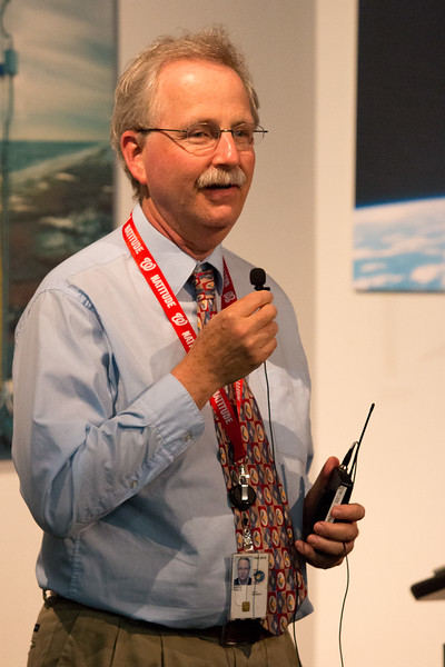 Paul Hertz (NASA HQ, Astrophysics Division Director) --  CGRO (Compton Gamma Ray Observatory) 25th Anniversary of launch party at NASA/Goddard Space Flight Center, Greenbelt, MD, June 2016