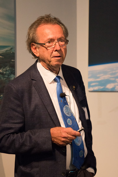 Volker Schönfelder (MPE) speaks about the COMPTEL Legacy -- CGRO (Compton Gamma Ray Observatory) 25th Anniversary of launch party at NASA/Goddard Space Flight Center, Greenbelt, MD, June 2016