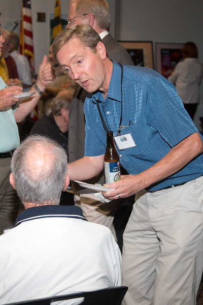 Eric Grove (NRL/OSSE )-- CGRO (Compton Gamma Ray Observatory) 25th Anniversary of launch party at NASA/Goddard Space Flight Center, Greenbelt, MD, June 2016