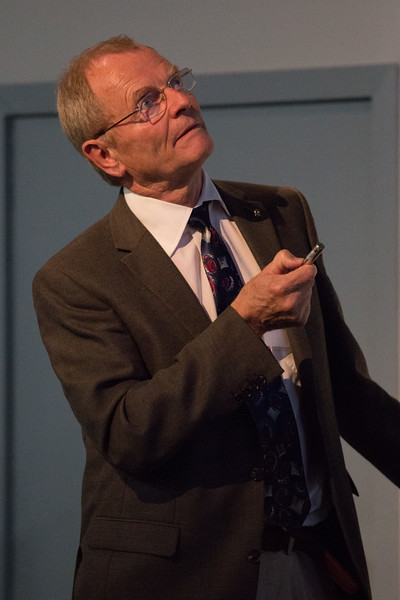 Gottfried Kanbach (MPE) speaks about the EGRET Legacy -- CGRO (Compton Gamma Ray Observatory) 25th Anniversary of launch party at NASA/Goddard Space Flight Center, Greenbelt, MD, June 2016