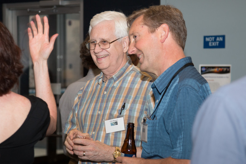 CGRO (Compton Gamma Ray Observatory) 25th Anniversary of launch party at NASA/Goddard Space Flight Center, Greenbelt, MD, June 2016