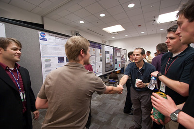 JHU-Goddard Interaction Day poster session (highlighting collaboration between the Department of Physics and Astronomy at the Johns Hopkins University and the NASA/GSFC Astrophysics Science Division