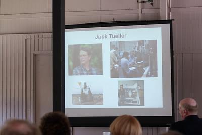 Slide showing during Remembrances -- Jack Tueller Memorial Symposium, NASA/Goddard Space Flight Center, Greenbelt, MD, April 26, 2013