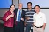 Peter and Marigail Serlemitsos with Takashi Okajima and Yang Soong -- Celebration of Peter Serlemitsos' 50 years at NASA/Goddard Space Flight Center (Sept 2011)