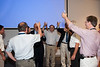 A champagne toast --  Celebration of Peter Serlemitsos' 50 years at NASA/Goddard Space Flight Center (Sept 2011)