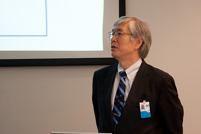 Hideyo Kunieda (University of Nagoya) who came from Japan specifically for this event -- Celebration of Peter Serlemitsos' 50 years at NASA/Goddard Space Flight Center (Sept 2011)