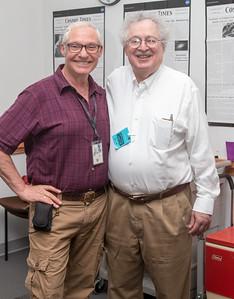 Eli Dwek and Steve Maran -- Retirement party for Ted Gull, Astrophysics Science Division, NASA/Goddard Space Flight Center, June 2015