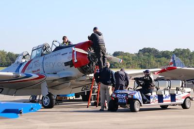 T-28/SNJ Trojan.