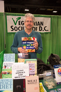Gary Loewenthal of Falls Church VA represents the Vegetarian Society of D.C.