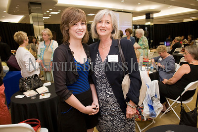 Debra Viol and her daughter, Elizabeth Viol  Women of Influence Reunion at Dillards department store, Cool Springs  photo by James Yates