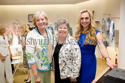 Glenda Copeland Laura Purswell Mila Grigg   Women of Influence Reunion at Dillards department store, Cool Springs  photo by James Yates