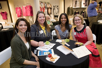 Marion Ingram Stephanie Reese Mika Moser Kim Tyner  Women of Influence Reunion at Dillards department store, Cool Springs  photo by James Yates