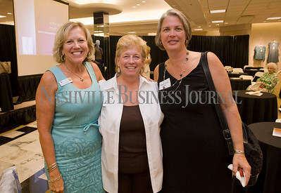 Susan Earl Hosbach Jan Maddox Jami McLeod  Women of Influence Reunion at Dillards department store, Cool Springs  photo by James Yates