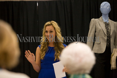 Mila Grigg, President, Moda Image Consulting  Women of Influence Reunion at Dillards department store, Cool Springs  photo by James Yates