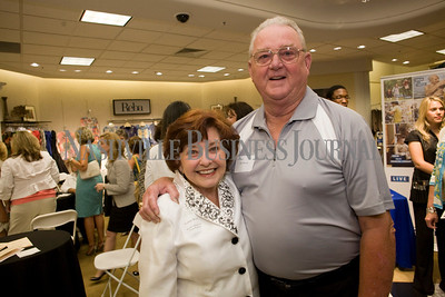 Yvonne Wood and her husband, Ish Wood  Women of Influence Reunion at Dillards department store, Cool Springs  photo by James Yates