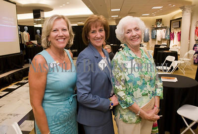 Susan Earl Hosbach Cheryl Read Dorris Read  Women of Influence Reunion at Dillards department store, Cool Springs  photo by James Yates