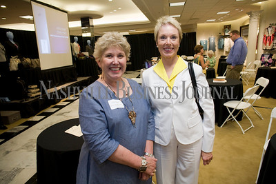 Cathy Holland Becci Bookner  Women of Influence Reunion at Dillards department store, Cool Springs  photo by James Yates