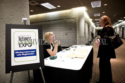 Nashville Business Journal hosted the Business Growth Expo at the Nashville Convention Center Wednesday with more than 40 businesses represented. Nathan Morgan | Nashville Business Journal