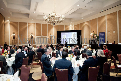 """Executives collaborate Thursday during the Nashville Business Journal's """"Banking's New Chessboard"""" panel discussion. The discussion was sponsored by KPMG at Loews Vanderbilt Hotel Nashville. Nathan Morgan 