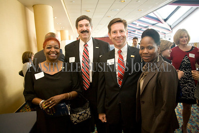 Kathy Love Ken Bishop Dan Dustin Kizzy Jones   Best in Business Awards  Photo by James Yates