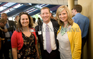 Kelly Miller Brandon Harrison Kara Allen  Best in Business Awards  Photo by James Yates