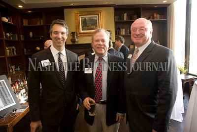Andy Moats Steven Eisen Vic Alexander  Best of the Bar reception, Nashville City Club  photo by James Yates
