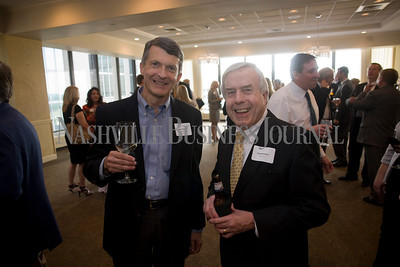 Robert Steele David Bullock  Best of the Bar reception, Nashville City Club  photo by James Yates