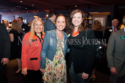 Sherri Bryant, left to right, Beverly Purvis, and Rebecca Bowman of Genesco. The Nashville Business Journal's Best Places To Work award luncheon at the Wildhorse Saloon presented by Pinnacle Financial Partners Wednesday April 10th. Nathan Morgan | Nashville Business Journal