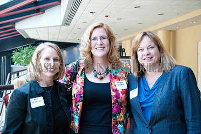 Beth Workman, left to right, Maggie Spalding, and Beth Adams at the Nashville Business Journal's Health Care Heroes celebration luncheon.