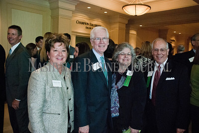 Deborah Varallo of Varallo Public Relations, left to right, with Jim McCann, of Avenue Bank, Debbie Henry, of the TMA Group, and Sheriff Jeff Long.