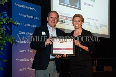 The Nashville Business Journal presented the Williamson County Impact Awards Wednesday at Marriott Franklin Cool Springs. The awards honors the leaders, community, supporters, business owners and developers who are leading the charge for improvements and economic development in Williamson County.