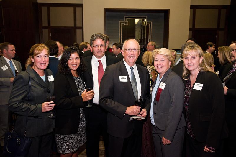 The 2015 CFO Awards Reception and Dinner at Omni Nashville Hotel.