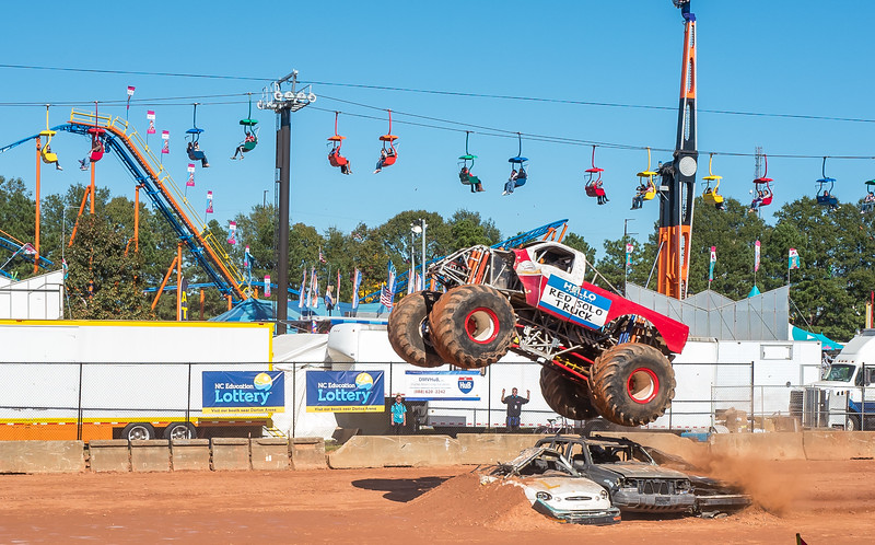 Destruction Derby at NC State Fair 2016
