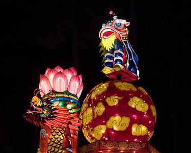 January 10, 2018. NC Chinese Lantern Festival, Koka Booth Amphitheatre, Cary, NC. Copyright © 2018 Jamie Kellner. All Rights Reserved.