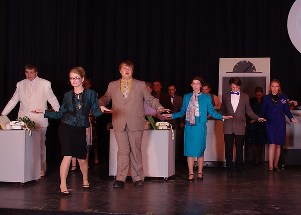 NCHS Musical 2014 9 to 5