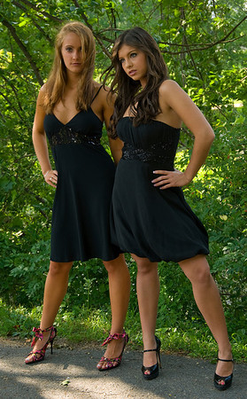 Irma Mikalaiciunas and Amber Faucher