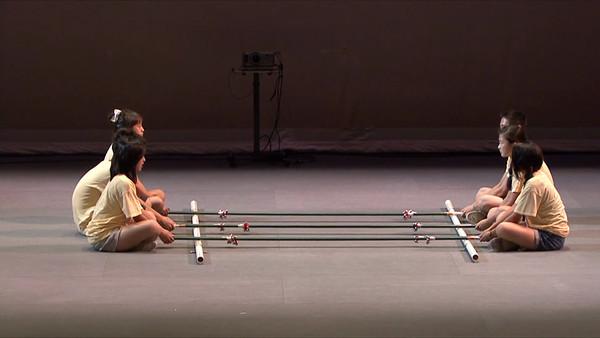 Bamboo Dance (竹竿舞) Group 4