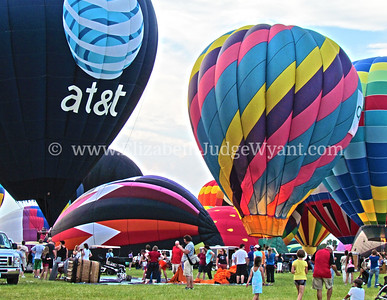 Hot Air Balloons, Readington Twsp, NJ