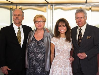 Susan Lucci, Alex Trebek, Kathy Parker, Phil Parker