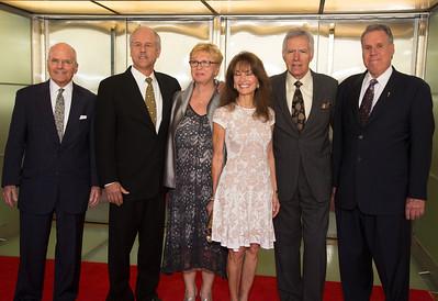 Susan Lucci, Alex Trebek, Kathy Parker, Phil Parker, John Gray, Malachy G. Wienges