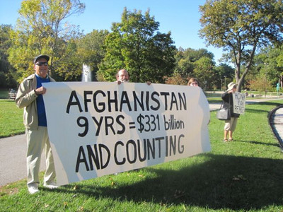 NOAC CPA VFP Afghanistan War Anniversary Campaign