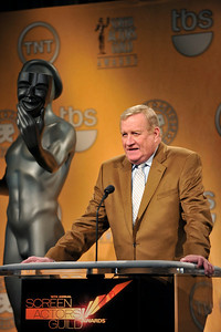 Nominations were held at the Pacific Design Center for the 18th Annual Screen Actors Guild Awards. Judy Greer from the Descendants and Regina King from TNT's Southland and the 18th Annual Screen Actors Guilds Awards Ambassador announced the nominees for this years actors, films, and Television Shows. SAG President Ken Howard Valerie Goodloe