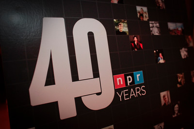 WASHINGTON, DC - NOVEMBER 13:  NPR 40th Anniversary celebration November 12, 2010.  (Photo by Dayna Smith)