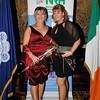 Image features: Gillian Doherty and Dympna Durkan. <br /> Photograph: Margaret Brown<br /> <br /> The National Rehabilitation Hospital in conjunction with members of the Gardai organised a St. Valentine's Ball on the 15th Febraury 2014 in Fitzpatrick Castle Killiney to raise much needed funds for the Speech and Language Therapy and Medical Social Work Department.<br /> On the night there was a champagne reception, followed by a three course meal with complimentary wine. This was followed by music from 'Men In Black'- Ireland's Most Entertaining Events Band. Fantastic prizes were to be won on the night in the raffle and local Auctioneer Seán Buckley took charge of the Auction with many exciting prizes.