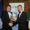 Image features L to R: Ronan Goggin and Gavin Fleet with the Liam MacCarthy Cup.<br /> Photograph: Margaret Brown<br /> <br /> The National Rehabilitation Hospital in conjunction with members of the Gardai organised a St. Valentine's Ball on the 15th Febraury 2014 in Fitzpatrick Castle Killiney to raise much needed funds for the Speech and Language Therapy and Medical Social Work Department.<br /> On the night there was a champagne reception, followed by a three course meal with complimentary wine. This was followed by music from 'Men In Black'- Ireland's Most Entertaining Events Band. Fantastic prizes were to be won on the night in the raffle and local Auctioneer Seán Buckley took charge of the Auction with many exciting prizes.