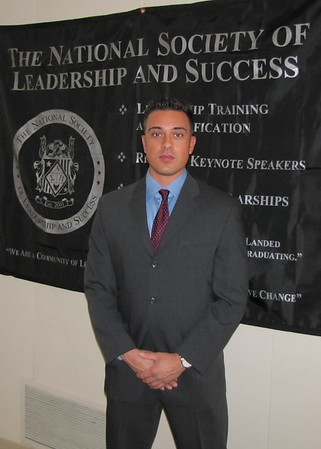 The National Society of Leadership and Success Induction Ceremony
