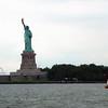 """Statue of Liberty and staverse jol """"De Goede Hoop""""."""