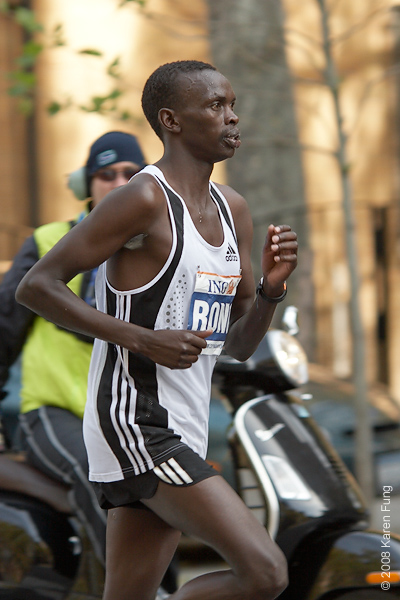 2008: Daniel Rono, who finished in third place.