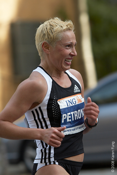 2008: Ludmila Petrova, the winner in 2000, finished 2nd this year.